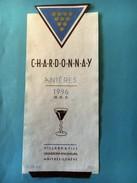 1820 - Suisse Genève  Chardonnay Anières 1996 - Etiquettes