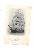 CPA -  VOILIER Au Plus Près - Sailing Vessels