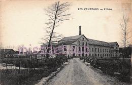 51 - LES VENTEAUX - L'Usine - 1917 - 2 Scans - France