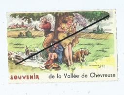 Carte - Souvenir De La Vallée De Chevreuse  - Chaperon Jean - France