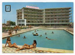 Espagne--PLAYA DE SAN JUAN--Hotel Almirante (piscine Animée,jolies Filles En Maillot De Bain),cpm éd Subirats Casanovas - Autres
