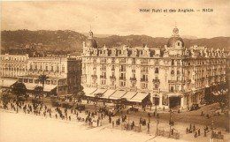 NICE HOTEL RUHL ET DES ANGLAIS - Cafés, Hoteles, Restaurantes