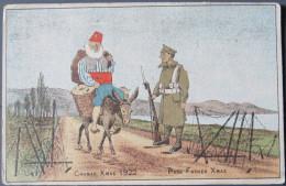 Christmas, Chanak Xmas, 1922, Gallipoli, Turkey - Santa Claus