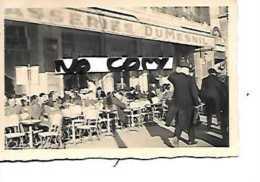 75 PARIS BRASSERIE DUMESNIL   PHOTO   ALLEMANDE PRINTEMPS   1941 - Cafés, Hôtels, Restaurants