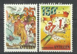 NETHERLANDS ANTILLES ANTILLEN 1997 CHRISTMAS,NEW YEAR MNH - Antillen