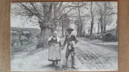 Rivière De Pont Aven.l'allée De Châtaigniers De Saint Nicolas à Port Manech.retour Des Champs.édition Villard N °982 - Pont Aven