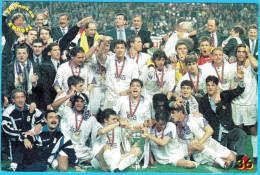 REAL MADRID CF Spain Football Club * EUROPEAN CHAMPION * Old Card Soccer Fussball De Futbol Calcio Futebol Foot Espana - Soccer