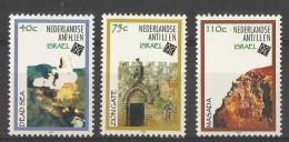 NETHERLANDS ANTILLES ANTILLEN 1998 'ISRAEL 98' SET MNH - Antilles