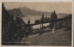 Rigibahn - Schnurtobelbrücke Und Pilatus - Wehrliverlag No. 1639 - SZ Schwyz
