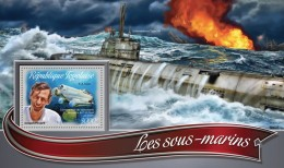 TOGO 2016 - Submarines S/S. Official Issue.