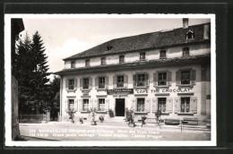 CPA Bourguillon, Hotel-Restaurant Des Trois Tours - FR Fribourg