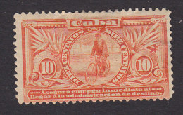 Cuba, Scott #E3, Used, Special Delivery Messenger, Issued 1902 - Express Delivery Stamps