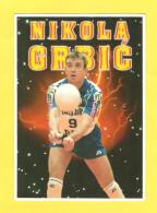Postcard - Sport, Volleybal Serbia, Nikola Grbić      (V 29329) - Volleyball