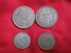 Chile  3 Silver Coins - Chili