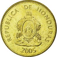 Monnaie, Honduras, 5 Centavos, 2005, SUP, Laiton, KM:72.4 - Honduras