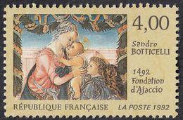 FRANCE Francia Frankreich - 1992 , Yvert 2754 - 500e Anniversaire De La Fondation D'Ajaccio, 4 F, Neuf, Parfait - Frankreich