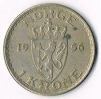 Norway 1956 1 Krone - Norway