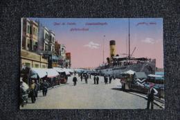 CONSTANTINOPLE - Quai De GALATA - Turquie