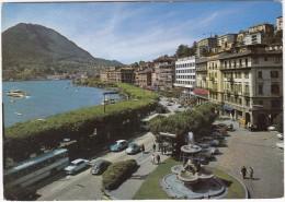 Lugano: REISEBUS, VW 1200 KÄFER/COX, CITROËN DS , FIAT 1500 & 1100 - S. Salvatore -  (Suisse/Schweiz/CH) - Passenger Cars