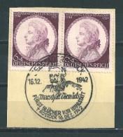 MiNr. 810 Auf Briefstück Mit Sonderstempel SEESTADT ROSTOCK (14) - Deutschland