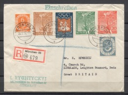 Germany Olympics Jeux Olympiques 1952 Mixed ( Germany + Berlin + UKRAINE )