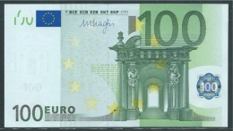 GERMANY X 100 EURO  R011 C1  - DRAGHI   UNC - 100 Euro