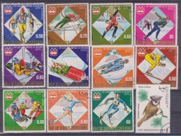LOT OF USED STAMPS DEPORTES SPORTS ANIMALES  ANIMALS BIRDS PAJAROS  PAISES  COUNTRIES VARIOS  VARIOUS   S-1698 - Sellos
