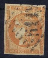 France: Yv Nr48 Used Obl Orange Fonce