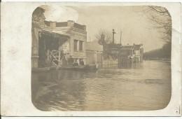 BILLANCOURT....CARTE - PHOTO...souvenir Inondation Et Familial... - France