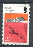 101 SUD GEORGIE 1976 - Yvert 55 - Ecrevisse - Neuf ** (MNH) Sans Charniere - Géorgie Du Sud