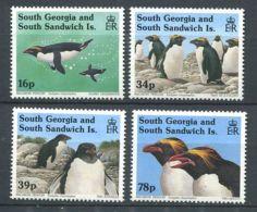 101 SUD GEORGIE 1993 - Yvert 231/34 - Manchot - Neuf ** (MNH) Sans Charniere - Géorgie Du Sud