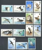 101 SUD GEORGIE 1987 - Yvert 166/80 - Oiseau - Neuf ** (MNH) Sans Charniere - South Georgia