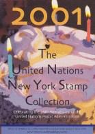 UN - United Nations New York 2001 MNH Souvenir Folder - Year Pack - New-York - Siège De L'ONU