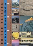 UN - United Nations New York 2002 MNH Souvenir Folder - Year Pack - New-York - Siège De L'ONU