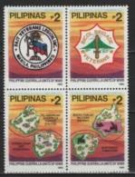 Pilipinas - Philippines (1995) Yv. 2207/10  /  History - Military - World War II - Seconda Guerra Mondiale