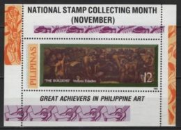 Pilipinas - Philippines (1995) Yv. Bf. 95  /  Paintings - Peintres - Art - Arte