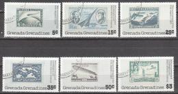 GRENADA  GRENADINES     SCOTT NO. 263-68    USED    YEAR  1978 - Grenada (1974-...)
