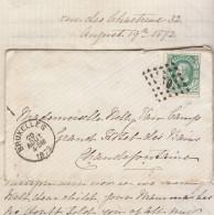 EAV N°30 O. Bruxelles 1879 -> Chaudefontaine - 1884-1891 Leopold II