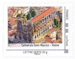 France 2014 Collector  Cathédrale Saint Maurice - Vienne Kathedrale Cathedral MNH ** - Neufs