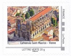 France 2014 Collector  Cathédrale Saint Maurice - Vienne Kathedrale Cathedral MNH ** - Frankrijk