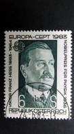 Österreich 1743 Oo/ET, EUROPA/CEPT 1983, Victor Franz Hess (1883-1964), Physiker, Nobelpreis 1936 - 1981-90 Used