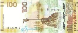 Russia - Pick New - 100 Rubles 2015 - Unc - Commemorative Reunion Crimea - Russia