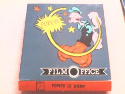 SUPER 8 - POPEYE LE SHERIF - FILM OFFICE - Bobines De Films: 35mm - 16mm - 9,5+8+S8mm