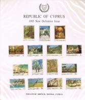 VR 3005 MAPPEN 7 STUKS CYPRUS MET SPECIMEN ZEGELS   ZIE SCANS - Collections (en Albums)