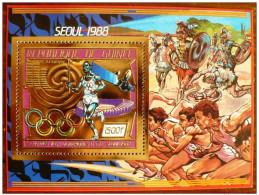 Olympische Spelen 1988 , Guinee -  Blok  Postfris - Verano 1988: Seúl