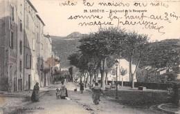 CPA 34 LODEVE BOULEVARD DE LA BOUQUERIE - Lodeve