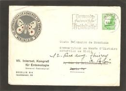 1937 Kongress Fur Entomologiie - Allemagne