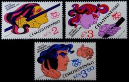 CHECOSLOVAQUIA 1976 - OLYMPCS MONTREAL 76 - YVERT 2152-54 - Verano 1976: Montréal