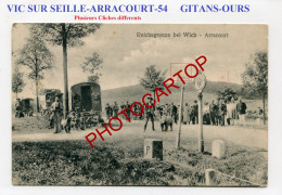 VIC SUR SEILLE-ARRACOURT-Gitans-Montreurs D'Ours-Frontiere-France-54- - Other Municipalities