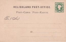 Héligoland - Entiers Postaux